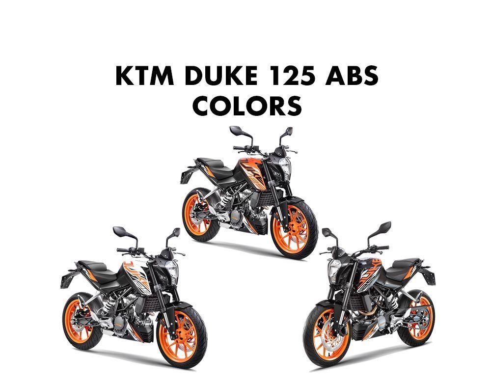 Ktm Duke 125 Colors Orange White And Black Ktm Duke Ktm Ktm 125 Duke