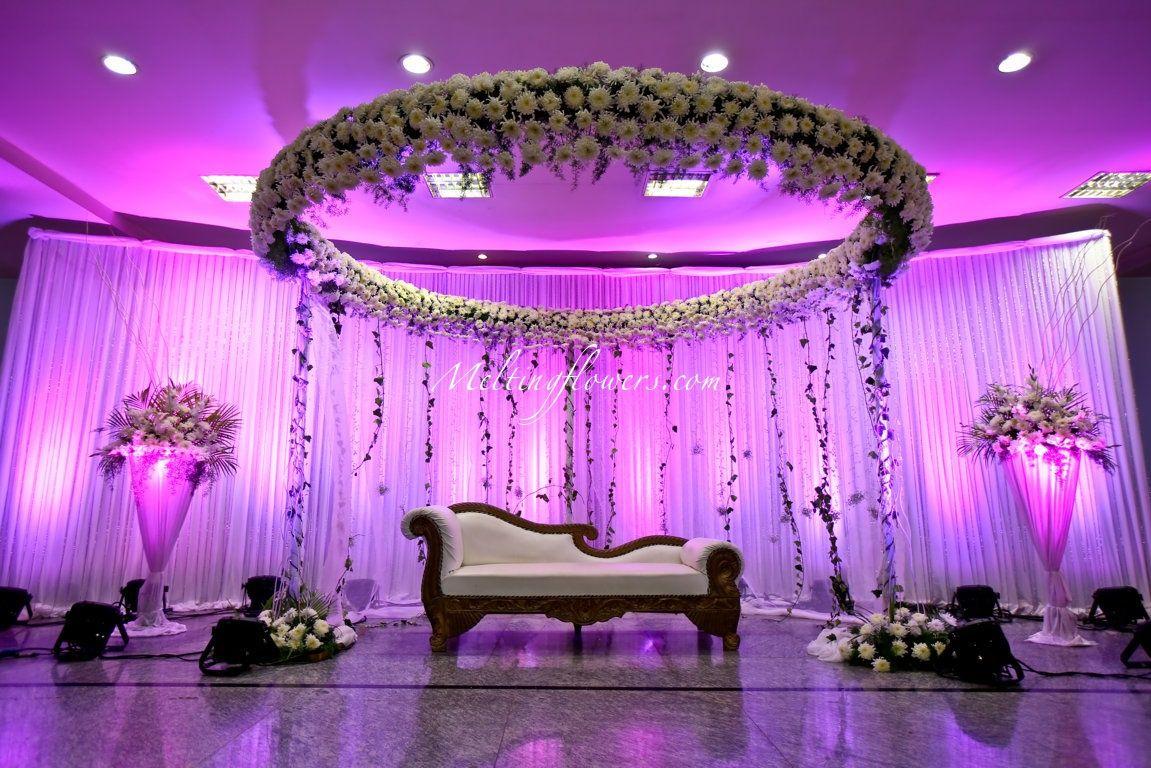 Wedding Backdrop Decoration Wedding Marriage Flowers Stage