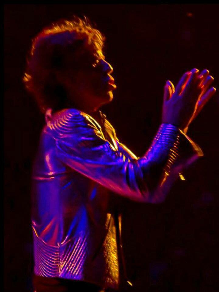 Jagger workin' his magic.