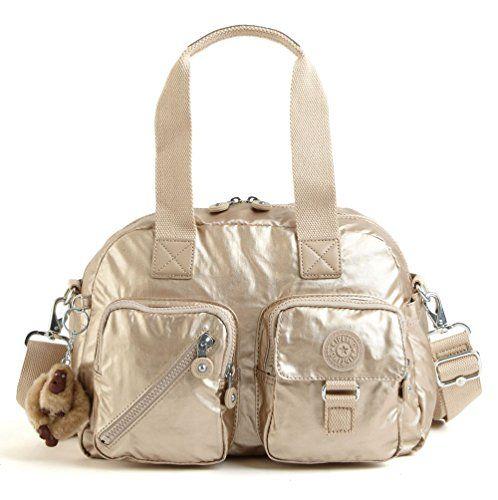 e2843b4ca7 Kipling Defea Handbag Toasty Gold in 2019 | Designer Handbags ...