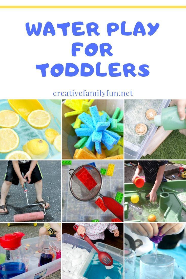 Water Play Ideas For Toddlers Toddler