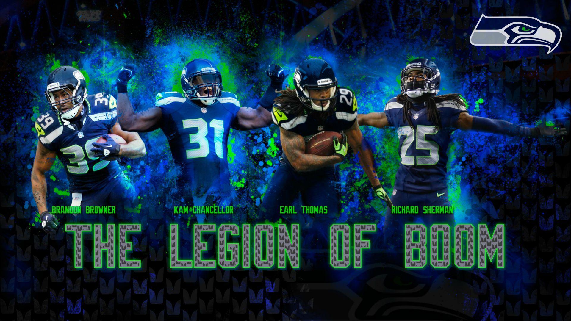 The Legion Of Boom Legion of Boom Pinterest Seahawks and