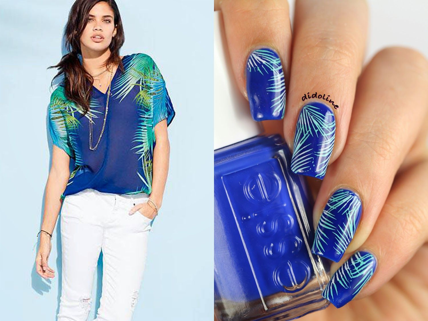 Fashion Friday - Inspired by Victoria's Secret #nails #fashionfriday #victoriassecret