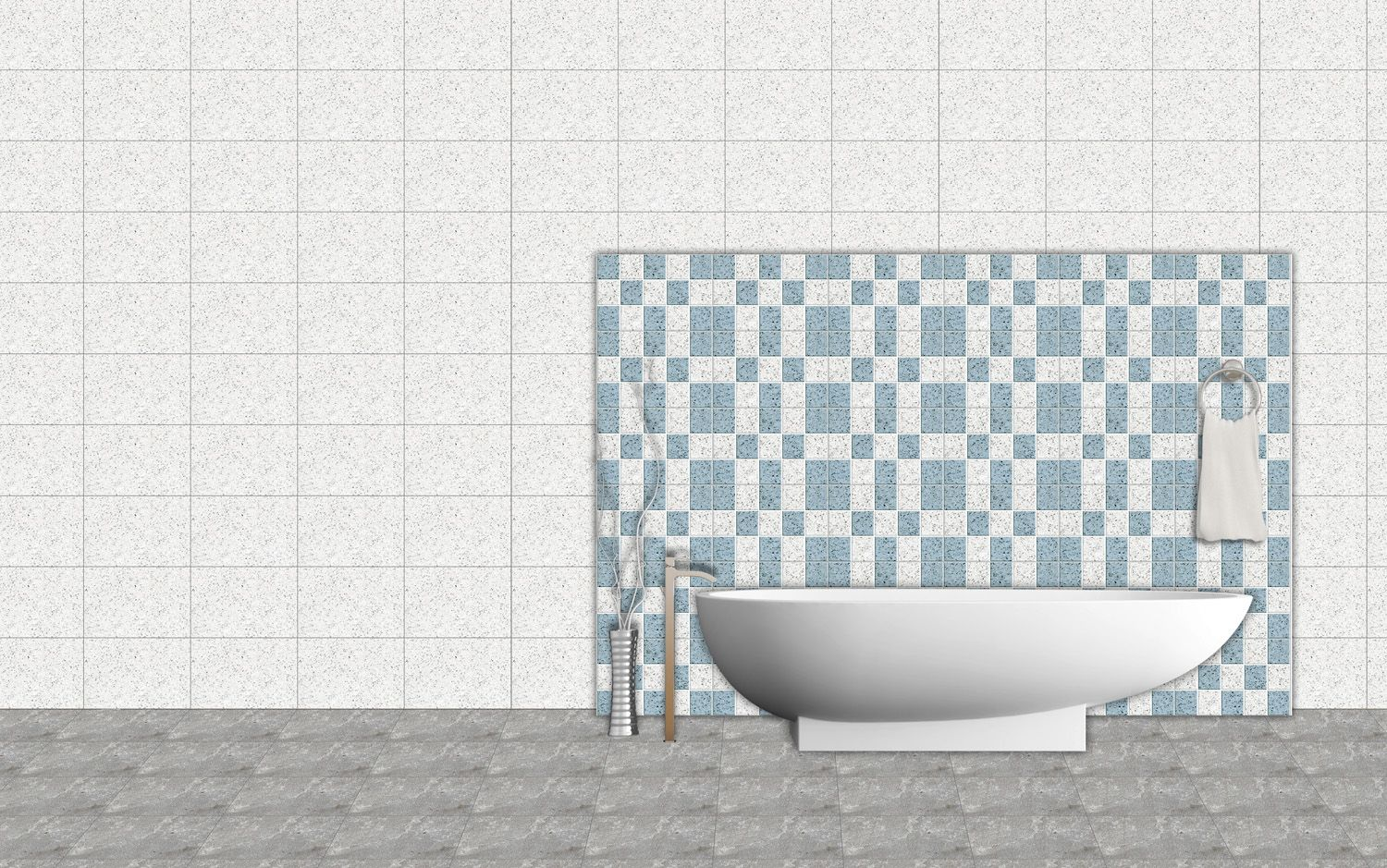 Chips Mosaic - #Bathroom Tiles http://www.orientbell.com/bathroom ...