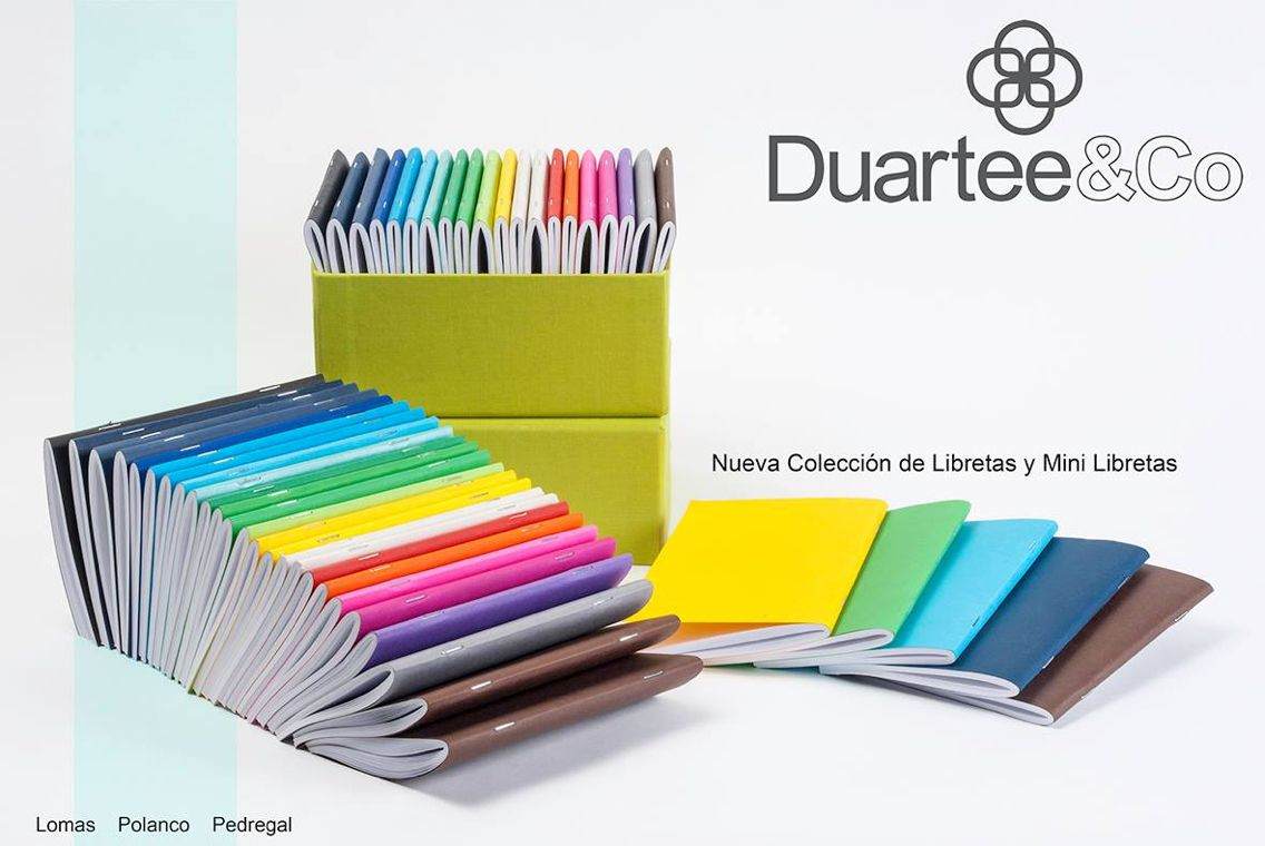 Libretas y mini libretas de color
