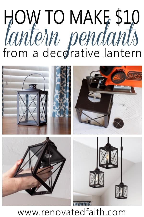 Light Fixture Makeovers (DIY Light Fixture Updates)
