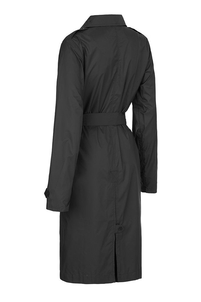 Anywhere Raincoat - Black | LET LIV