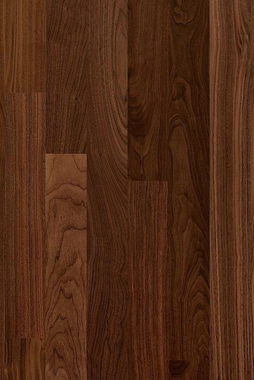Kahrs Walnut Philadelphia Walnut Philadelphia Is A Dark Brown Floor With A Lot Of Character In The Grain Carpet Fitters Flooring Brown Floors