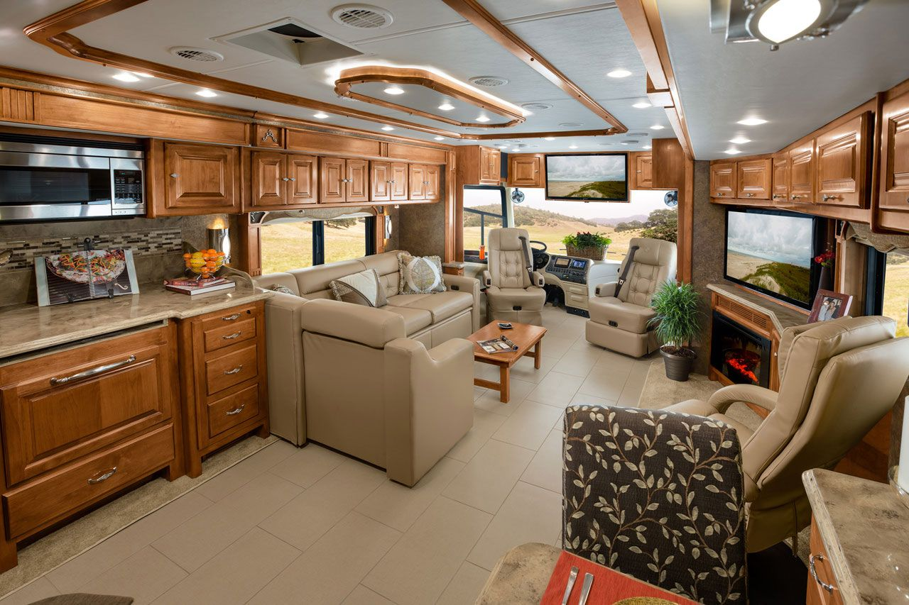 Luxury rv interior - Find This Pin And More On Motorhome Ideas