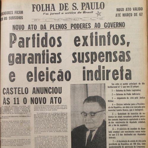Entenda A Ditadura Militar No Brasil Em 40 Datas Historicas