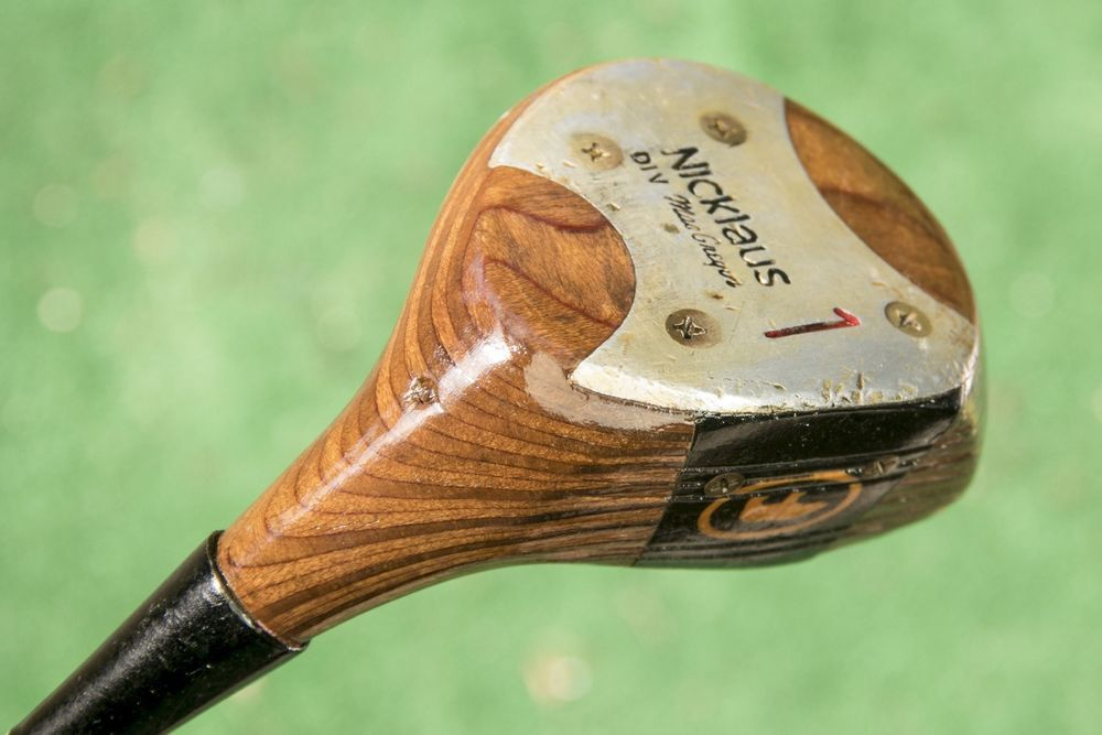 Macgregor Nicklaus Wooden 1 Wood Driver Vintage Wooden Wood Used Golf Club Macgregor Golf Clubs Best Golf Clubs Golf Tips Driving