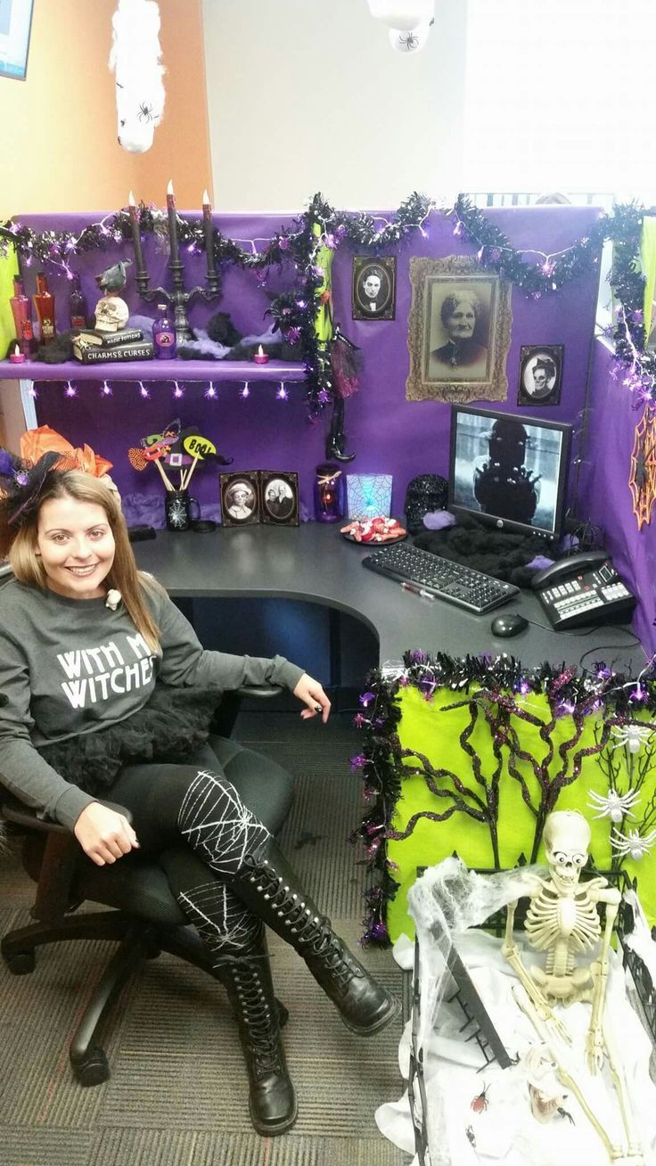 Halloween decorations for the office Halloween - Office Decor - Halloween Office Decorations Ideas