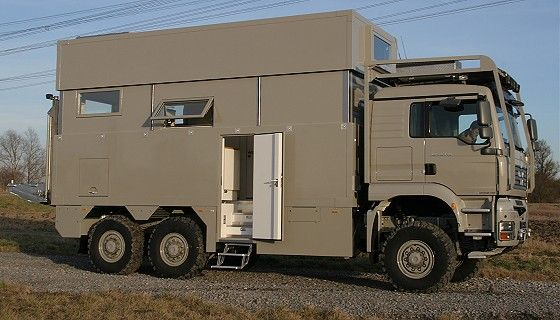 EX63-HDSC / MAN TGA 6x6 Outstanding Idea for Exploring U S