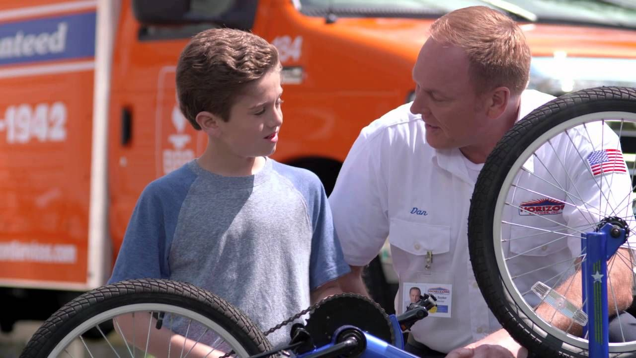 Horizon services tv commercial maxs bike with images