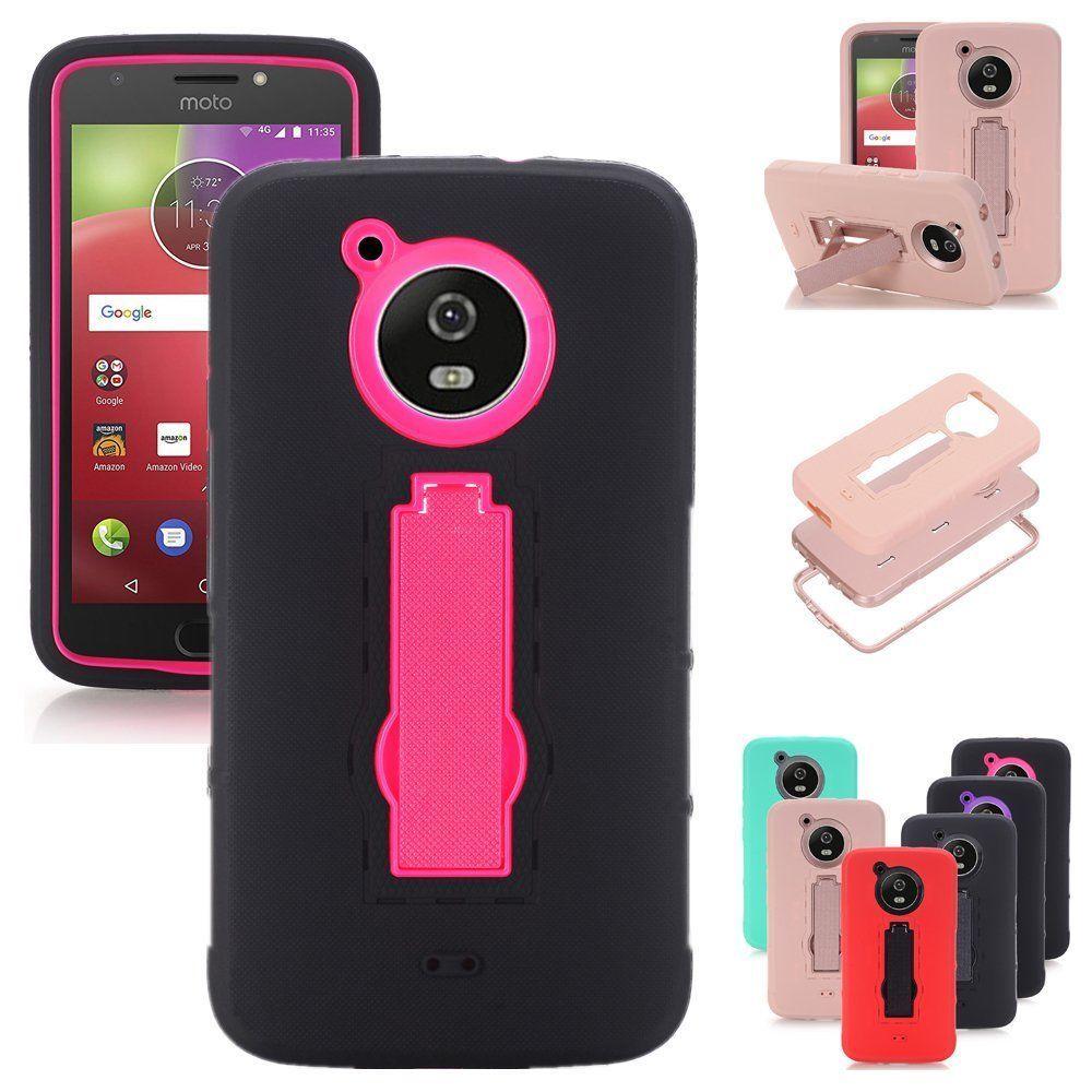 huge discount 783e2 6af13 $2.95 - Hybrid Rugged Shockproof Tpu+Pc Case Stand For Motorola Moto ...