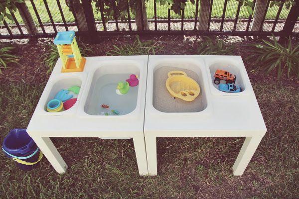 Der Ikea Schnäppchen-Tisch im neuen Gewand