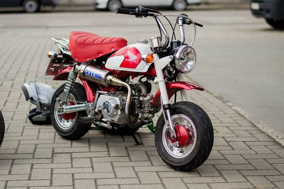 Honda Monkey Cb1100 Mini Bike Honda Bike