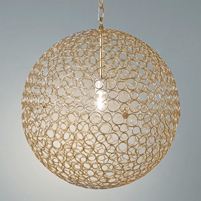 Circles Sphere Pendant Light Large Sphere Pendant Light
