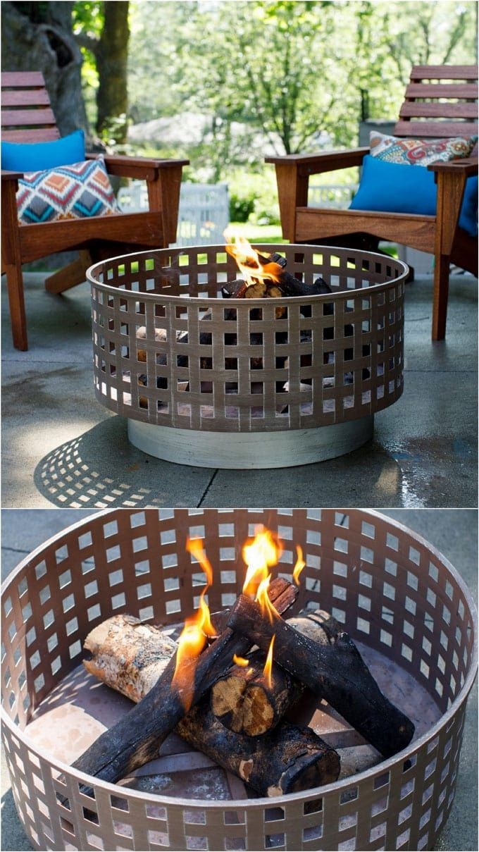 24 Best Fire Pit Ideas To DIY Or Buy ( Lots Of Pro Tips | Pinterest | Fire  Pit Grill, Wood Burning Fire Pit And Wood Burning Fires