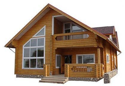 Casa de madera prefabricada decoraci n pinterest house cabin and log cabins - Casa de madera prefabricada ...