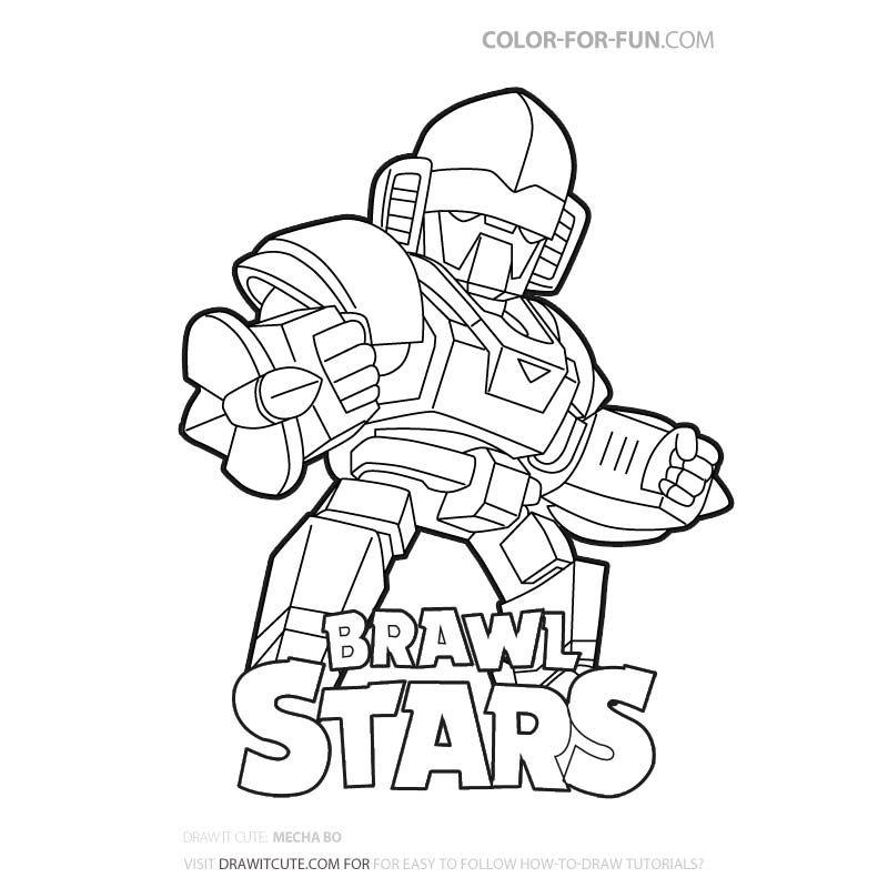 Brawl Stars Brawl Stars Mecha Bo Brawl Stars Gameplay Mecha Bo