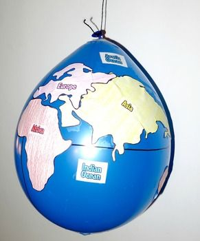 Geography balloon globes world maps geography kindergarten geography balloon globes world maps gumiabroncs Image collections