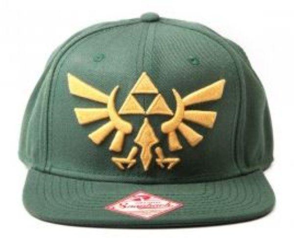 The Legend Of Zelda Gold Logo Cap