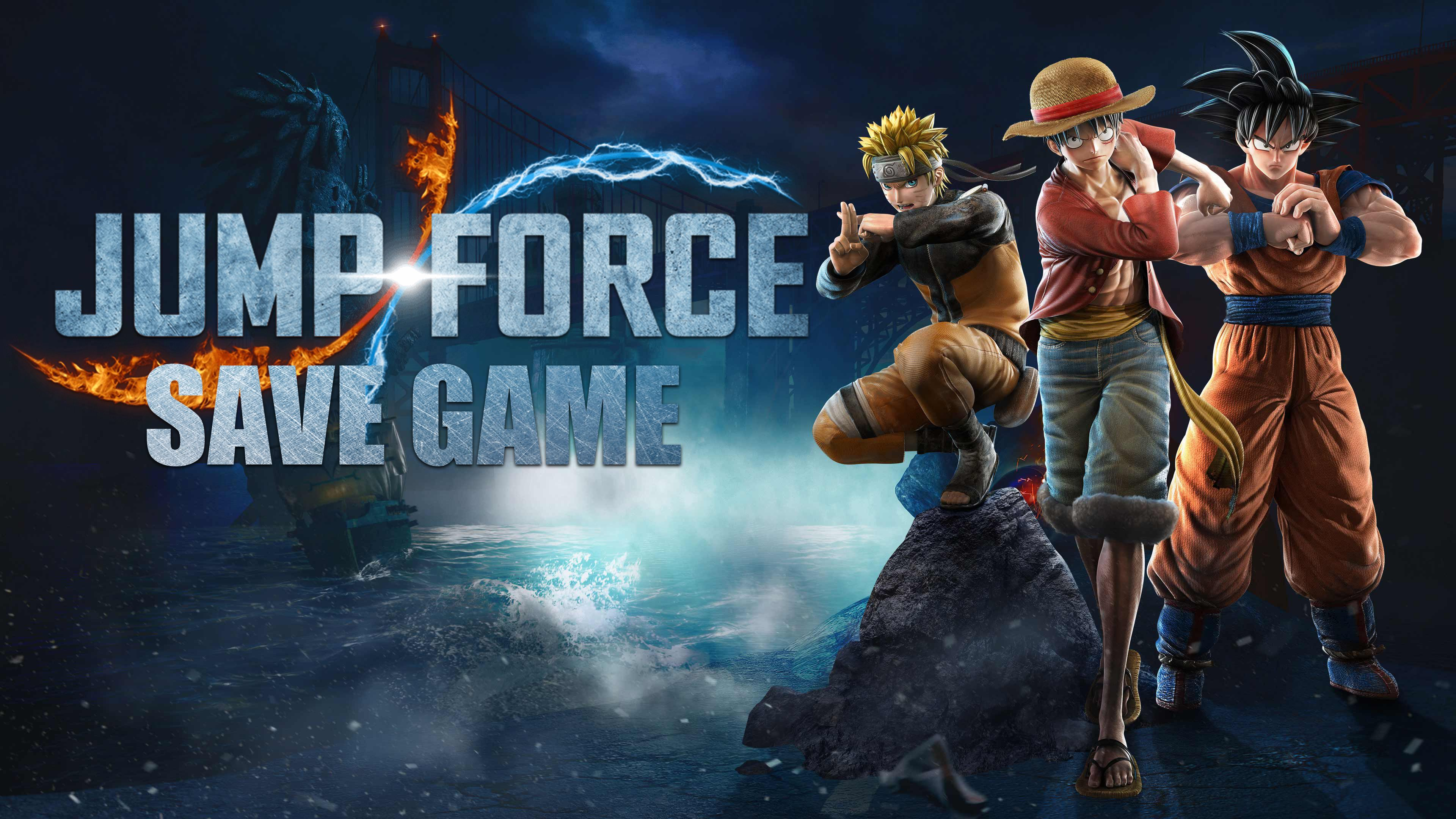 Jump Force 100 Save Game for PC Right Here ==> Link