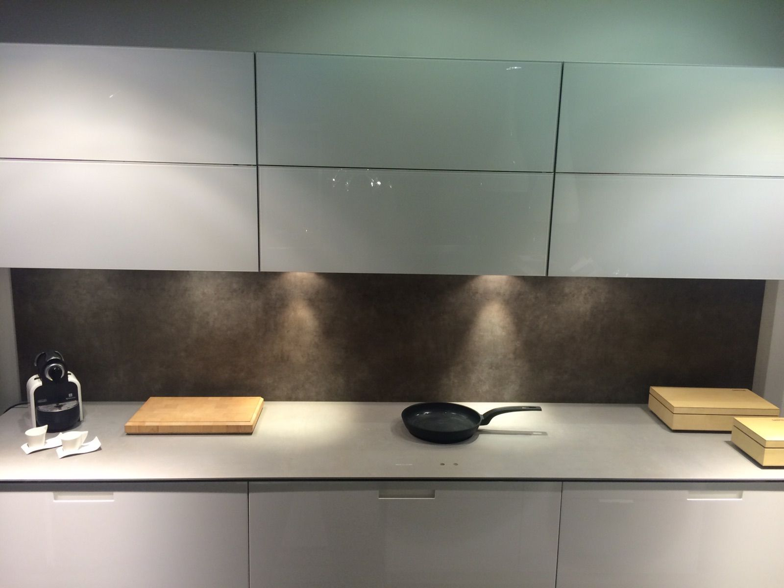 Kitchen Island Hob this magic hob within a worktop is called tpb tech. its an