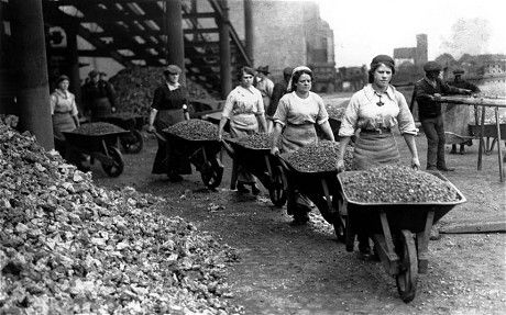 role of women in ww1 and ww2
