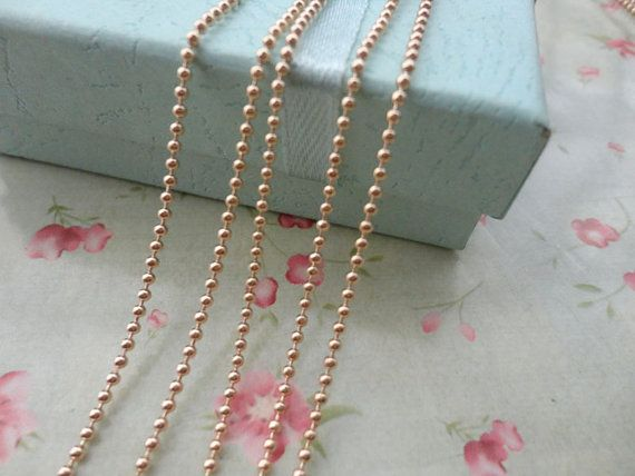 10ST275 Zoll 15 mm Metallkugel Kette Halskette von BeautyYourLife
