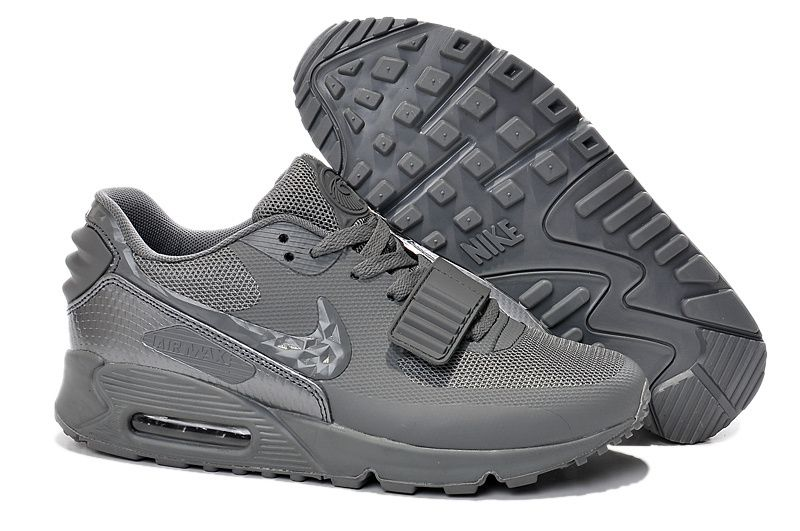 Nike Air Max 90 Yeezy All Grey Shoes