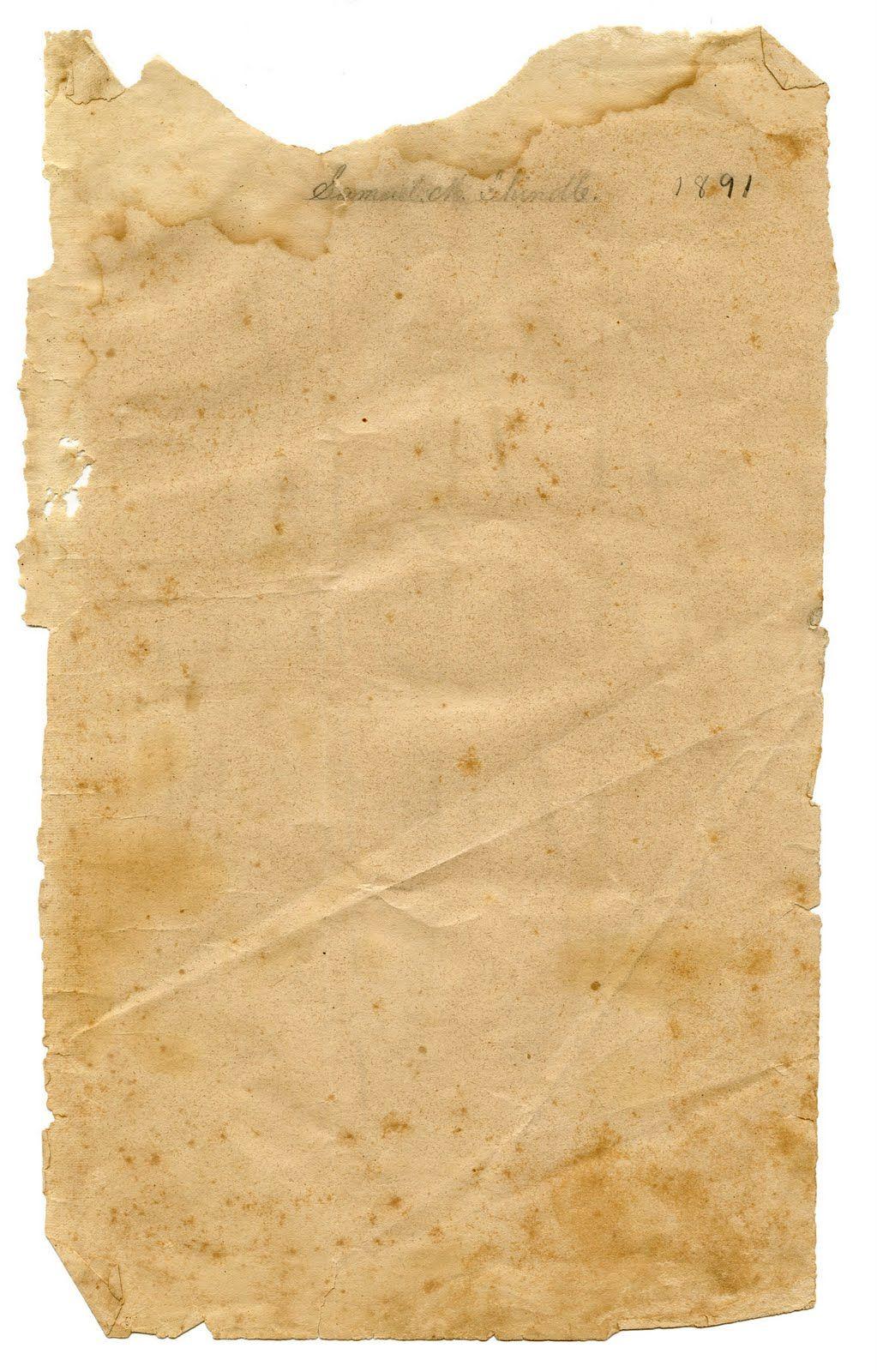vintage ephemera graphic - torn paper texture | printables 10