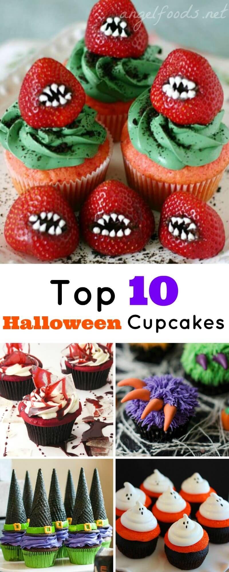 Top 10 Halloween Cupcakes
