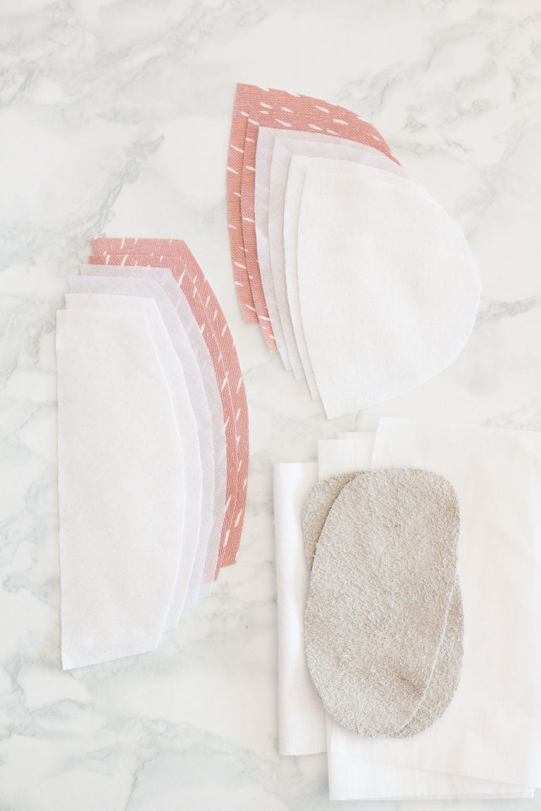 Soft Sole Toddler Shoes // Baby DIY With Pattern