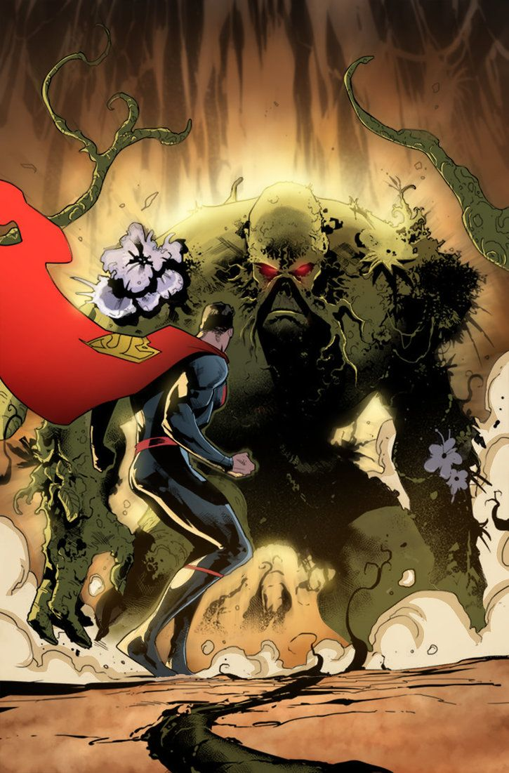 color by Marco Pelandra. superman. swamp thing | Superman family ...
