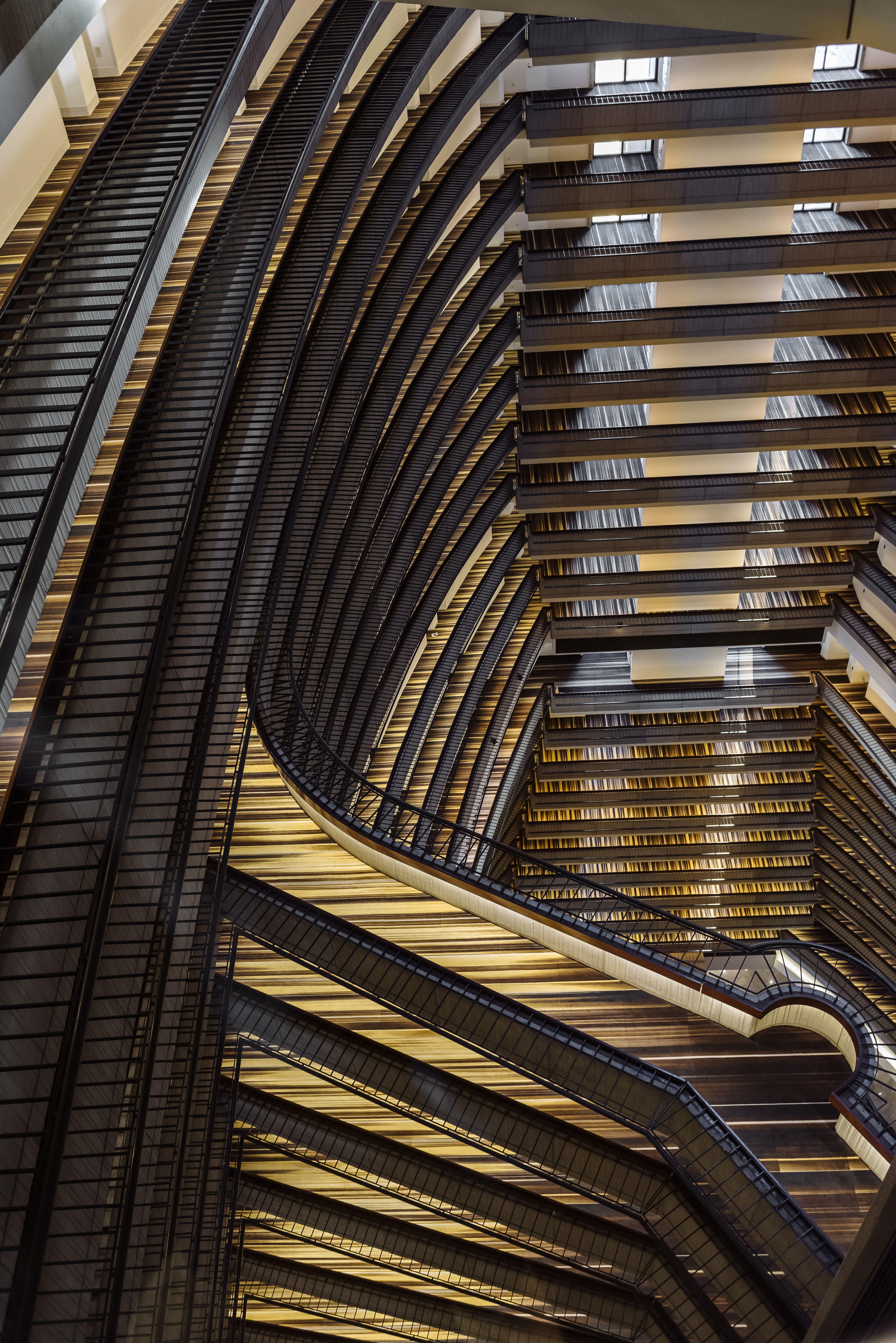 Atlanta Marriott Marquis Deisgned By New York Based Boutique Interior  Design Firm, Krause Sawyer