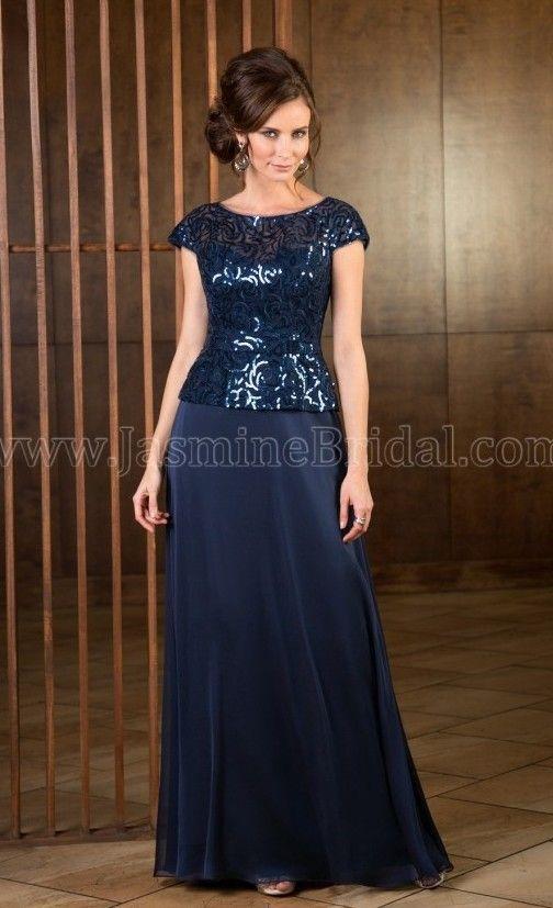 MotheroftheBride WINE #Jade J165054 Evening Gown at Le Dress ...