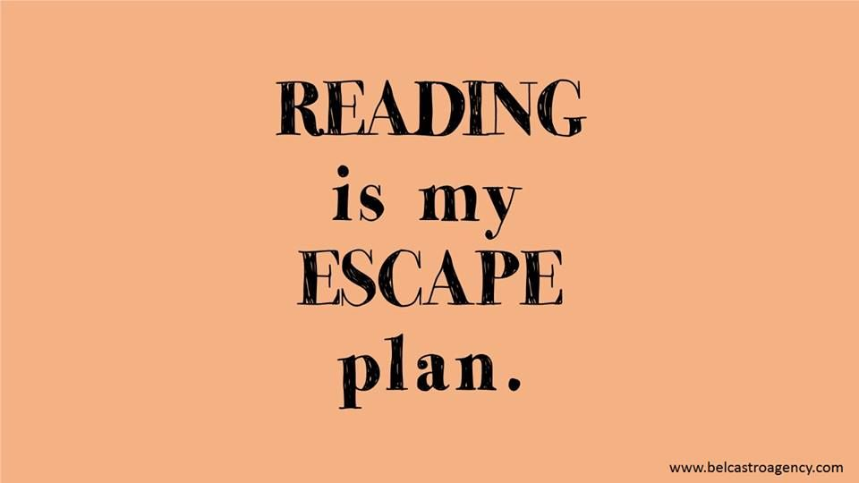 Reading Is My Escape Plan