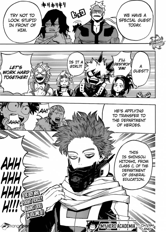 The Return Of Shinsou Boku No Hero Academia 194 Page 12 With