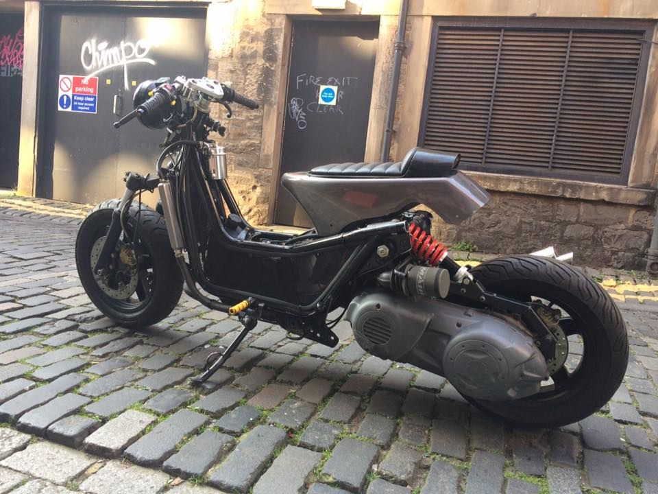 piaggio x9 500 cutdown chop lowrider moto scooter. Black Bedroom Furniture Sets. Home Design Ideas