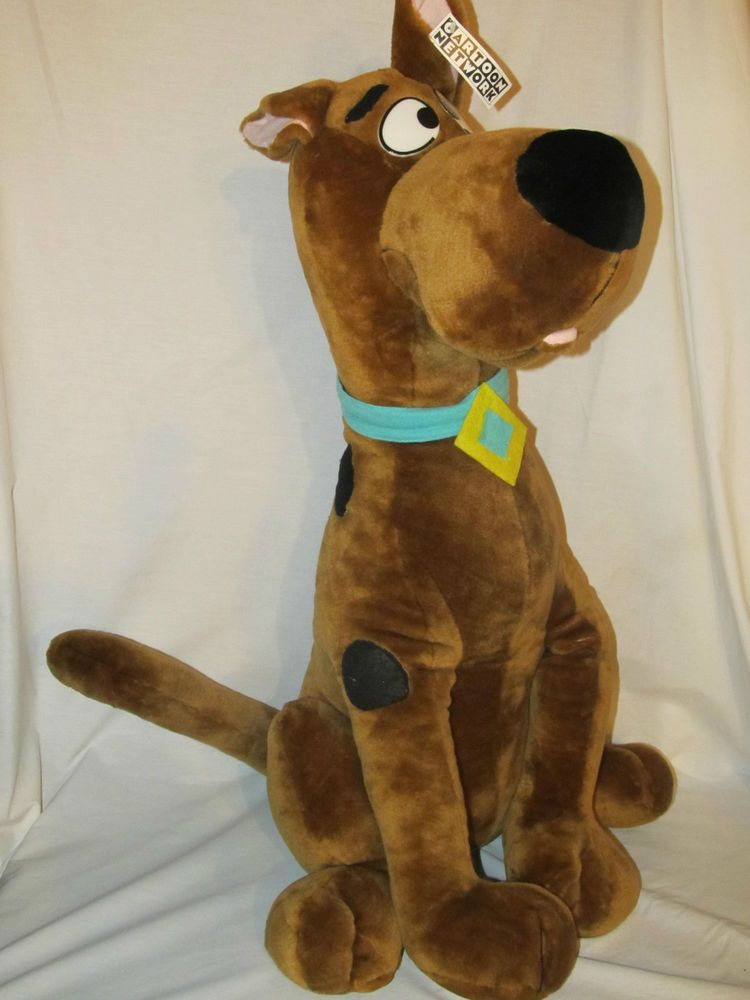 Huge Scooby Doo 32 Stuffed Plush Animal Standing Play By Play 1997