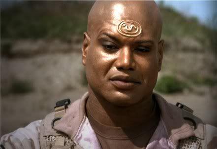 Image result for Stargate Teal'c
