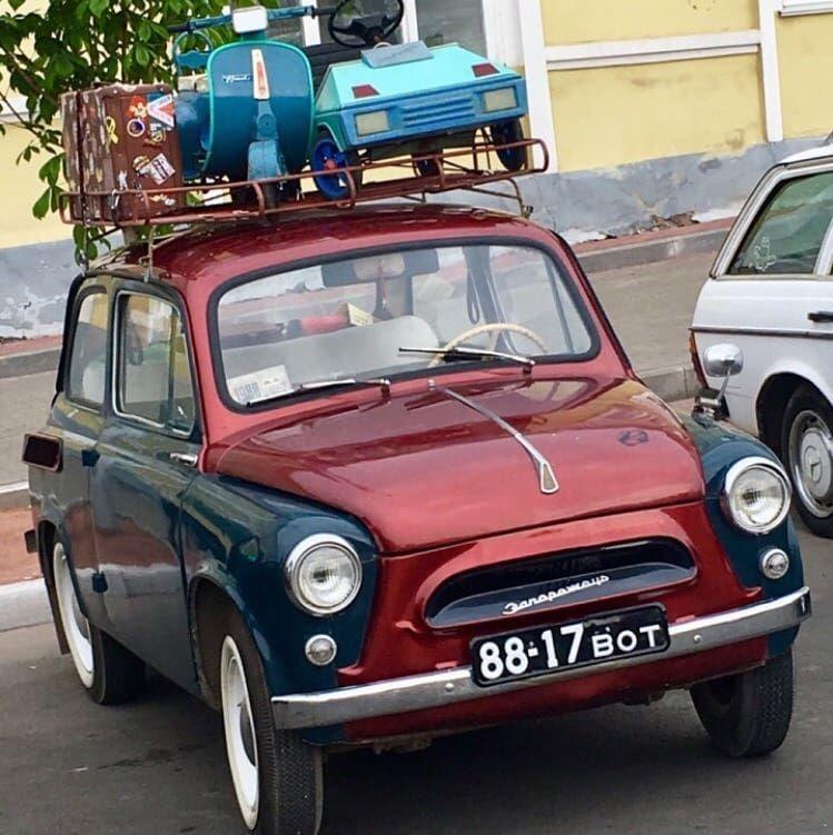 ЗАЗ 965 1966 год выпуска | Автомобили, Ретро, Ностальгия