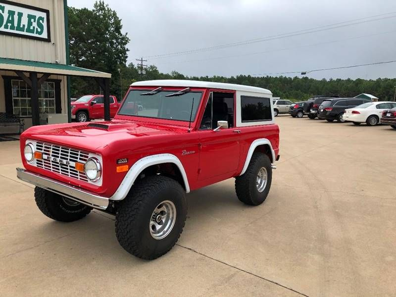 This 1976 Ford Bronco Is Listed On Carsforsale Com For 59 900 In Longview Tx Ford Bronco Bronco Red Interior Car