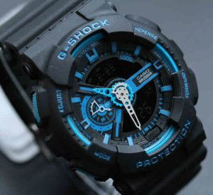 Jam Tangan Casio G shock GA110 Black Blue Replika KW Super Murah Hanya  125.000 Free Box Gshock 5f4a970c0b