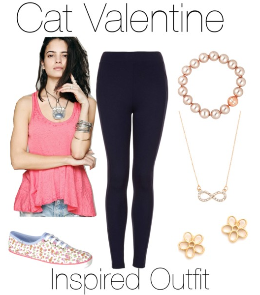 An Inspired Outfit For Ariana Grande As Cat Valentine For Sam U0026 Cat **Make