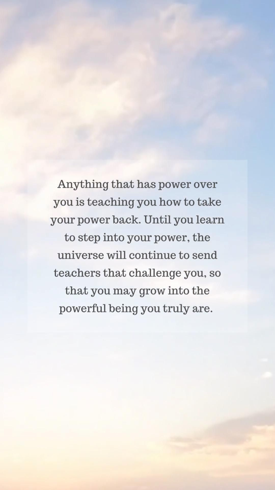 By communicating your needs and boundaries to those who challenge you, you step into your power 💛