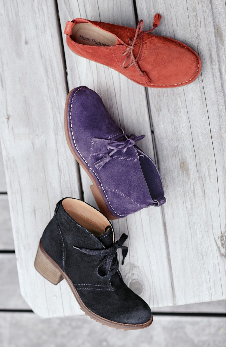 e00d0869018 Free shipping and returns on Hush Puppies®  Cyra Catelyn  Chukka Boot  (Women) at Nordstrom.com. Modern and comfortable