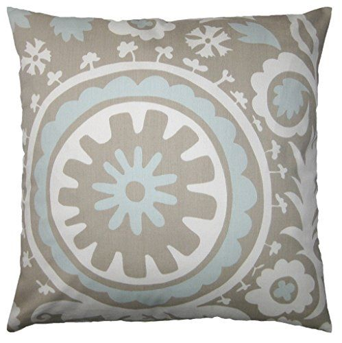 JinStyles Cotton Canvas Floral Accent Decorative Throw Pillow Cover (Blue & Gray, Square, 1 Cover for 16 x 16 Inserts) JinStyles http://www.amazon.com/dp/B0198VBPCI/ref=cm_sw_r_pi_dp_Wty3wb0CP4C3H